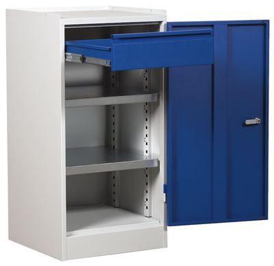 Verktygsskåp med en låda, enkelskåp 1000x500x500