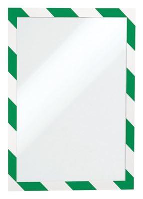 Inforam Duraframe Security A4, grön/vit. Självhäftande, 2 st/fp