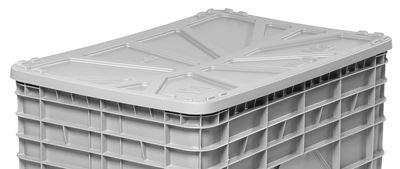 Lock till industribox 1040x640 mm, grå