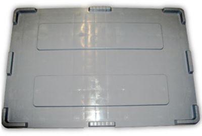 Lock till industribox 1200x800 mm, grå