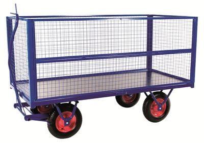 Nätsidor till transportvagn  LxBxH 2000x1000x800 mm