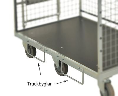 Plockvagn Flex 600, truckbyglar