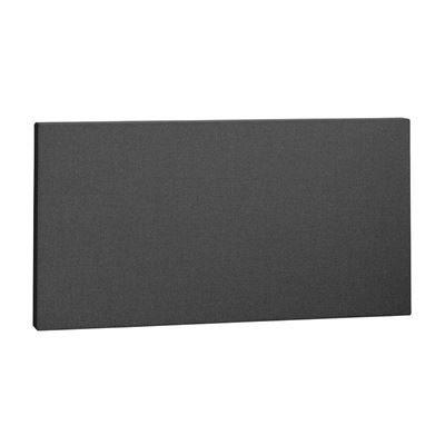 Ljudabsorbent rektangel, 1180x 600x50 mm, Mörkgrå