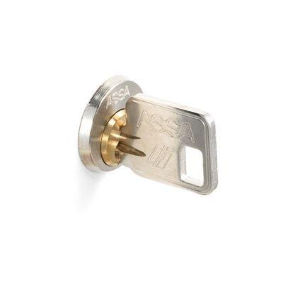 Huvudnyckel till ASSA cylinderlås, silver