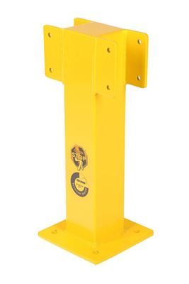 Mittstolpe till skyddsräcke Bolena, H 500 mm, inomhusbruk