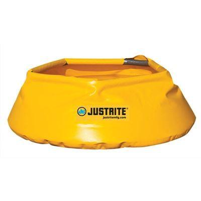 Spilltråg uppfällbar Justrite, Ø 711 mm, volym 76 liter