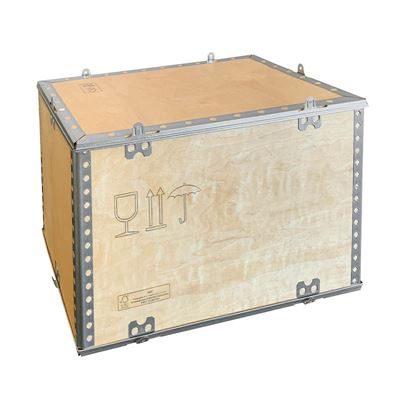 Plywoodlåda, hopfällbar, LxBxH 380x280x280 mm, 5-19 st
